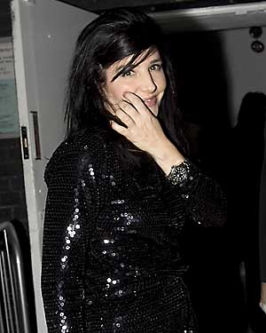 Sharleen Spiteri arrives at Doubles