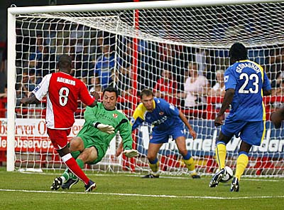 ADEMENO scores for Crawley