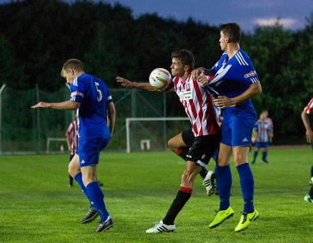 21/08/2013  Guildford City FC v Thatcham Town FC at the Spectrum. Pictures Paul Burgman