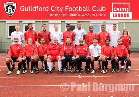 From PressPhotos-Uk.com 21/08/2013  Guildford City FC Team Photographs