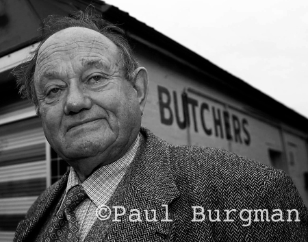 George Coyne, Butcher of Lightwater (PIC PAUL BURGMAN)
