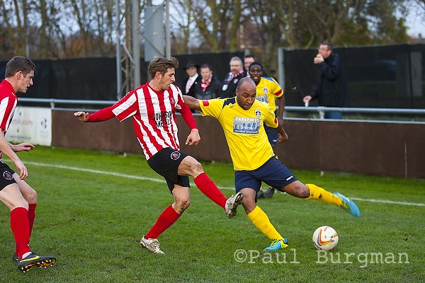 07/12/2013. Bridgwater 4-2 Guildford City [Pic Paul Burgman]