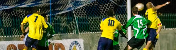 03/12/2013. City's LANCE BANTUM-BROWN scores his & City's 2nd Goal of the evening