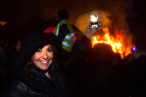 08/11/2014 Brockham Village Fireworks & Fire