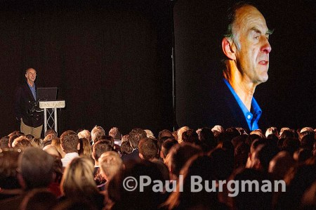 27/11/2014 -  Sir Ranulph Fiennes gives the annual Huxley lecture