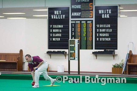 13/12/2014 Wey Valley IBC v White Oak IBC Denny Cup, Last 32 Ian Meyer