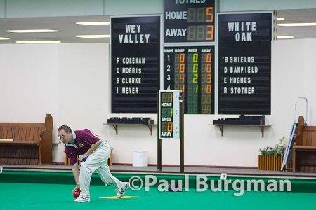 13/12/2014 Wey Valley IBC v White Oak IBC Denny Cup, Last 32 Ian Meyer