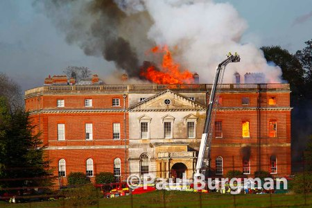 29/04/2015 Clandon House Fire