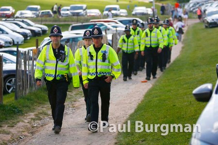 06/06/2015. Epsom Races.A busy day for the Surrey Police