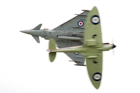 28/08/2015.  Wings & Wheels Typhoon & Spitfire