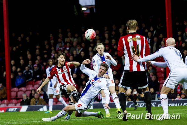 09/01/2015 Brentford FC v Walsall FC FA Cup 3rd Round