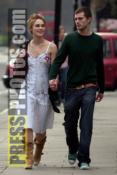26 March  2005-Kiera Knightly and boyfriend on Kieras 20th Birthday