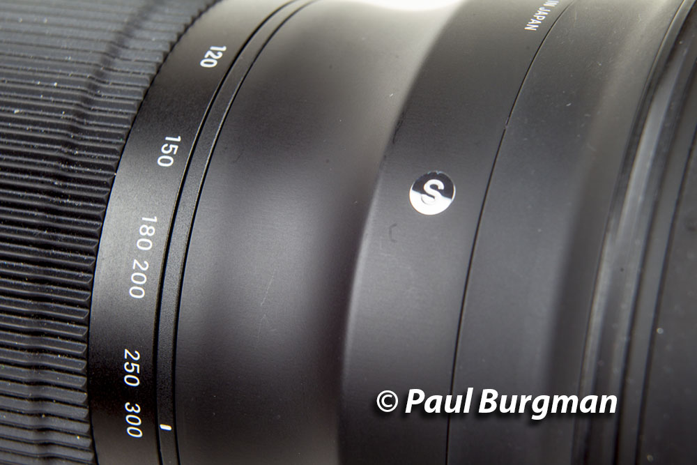 Much nicer finish to the lens body