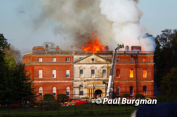 Clandon House Fire 0195