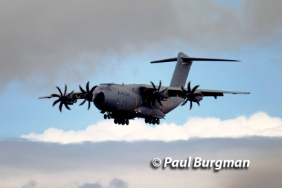 17/07/2016. Farnborough International Airshow. A400M