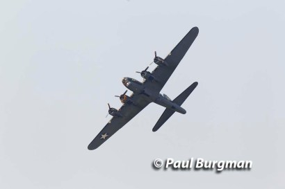 27/08/2016.Wings & Wheels, Dunsfold. The B17