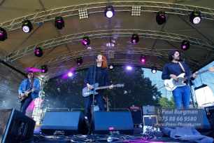 11/09/2016. Always The Sun Festival. Reading band The Amazons on Stage