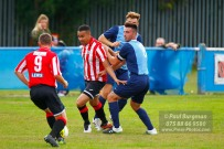 24/09/2016. Spelthorne Sports v Guildford City. Guildford City Dan HARDING's & Perry COLES