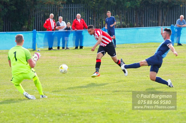 24/09/2016. Spelthorne Sports v Guildford City