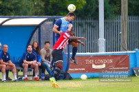 24/09/2016. Spelthorne Sports v Guildford City. Guildford City MOM Ibby AKANBI