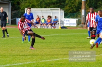 22/10/2016. Guildford City v North Greenford United. City's Mario EMBALO scores City's second