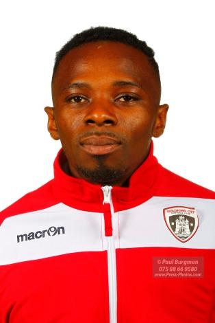 22/10/2016. Guildford City FC Squad Photos. Jacob Lame