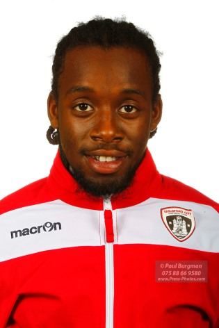 22/10/2016. Guildford City FC Squad Photos. Kiye Martin