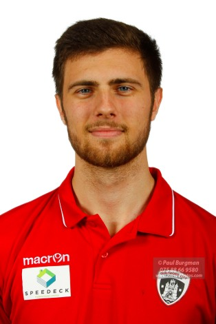 22/10/2016. Guildford City FC Squad Photos. Tom Bingham