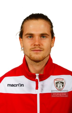22/10/2016. Guildford City FC Squad Photos. Will HOARE