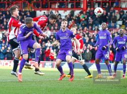 05/03/2016 Brentford FC v Charlton Athletic. Brentford score