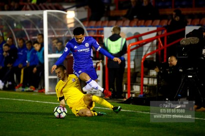 16/12/2016. Chelsea v Dinamo Zagreb in the Youth European Cup. Jay DASILVA