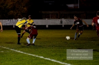 6/12/2016. Farnham Town v Guildford City FC. Shawn Lyle scores City's 3rd
