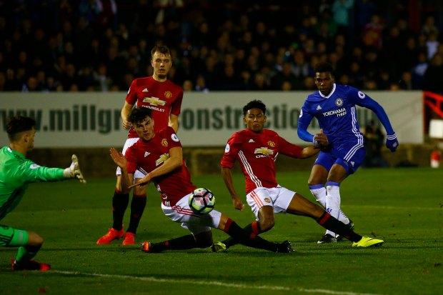 9/12/2016. Chelsea U21 v Man United.