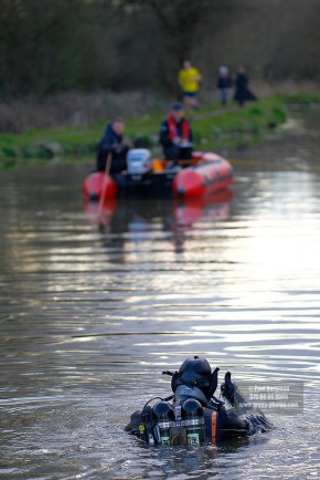 31/03/2016.Kayaker missing in River Wey named as 56-year-old Grant Broster. Surrey Police will continue to search the River Wey for a man whose kayak overturned on Monday 28th March.