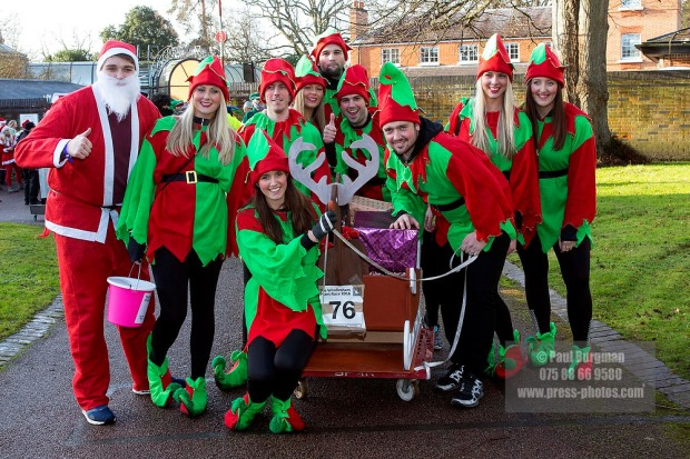 26/12/2016.  Windlesham Pram Race.