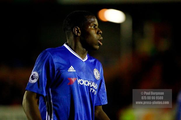 24/10/2016 Chelsea U23 v Derby County U23.