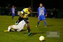 Epsom & Ewell v GCFC, Surrey Senior Cup. Goal scorer Mario Embalo