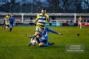 14/01/2017. Farnborough v Barton Rovers. Eddie SMITH