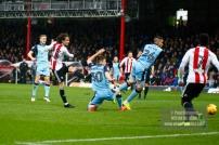 25/02/2017. Brentford FC v Rotherham United. YOTA shoots