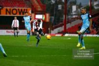 25/02/2017. Brentford FC v Rotherham United. Konstantin KERSCHBAUMER shoots