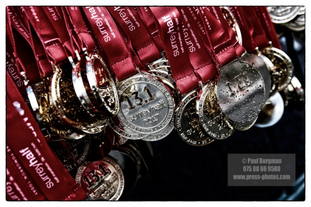 12/03/2017. Surrey Half Marathon