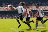 20/04/2017. Brentford v Queens Park Rangers. Match Action.