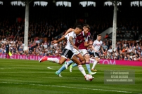 17/04/2017. Fulham FC v Aston Villa. Match Action. FulhamÕs Ryan FREDRICKS