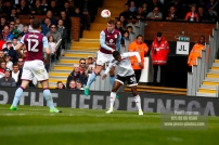 17/04/2017. Fulham FC v Aston Villa. Match Action. Fulham's Ryam SESSEGNON
