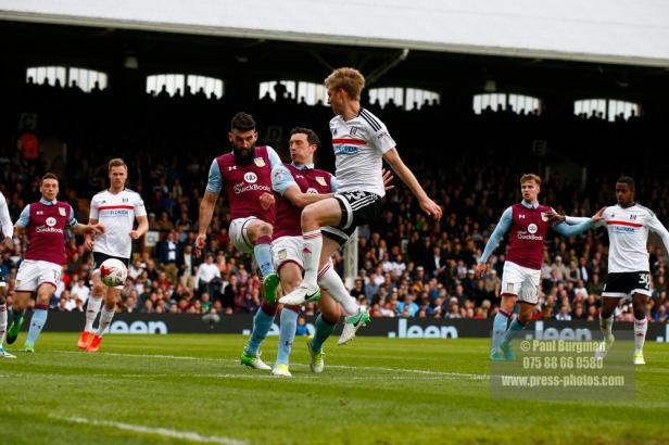 17/04/2017. Fulham FC v Aston Villa. Match Action. FulhamÕs Tim REAM