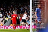 29/04/2017. Fulham v Brentford. Fulham's Tom CAIRNEY celebrates scoring