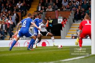 29/04/2017. Fulham v Brentford. Fulham's Ryam SESSEGNON