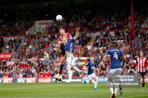 12/08/2017 Brentford v Nottingham Forest at Griffin Park. BrentfordÕs John EGAN