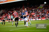 12/08/2017 Brentford v Nottingham Forest at Griffin Park. BrentfordÕs John EGAN scores