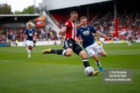 12/08/2017 Brentford v Nottingham Forest at Griffin Park.BrentfordÕs Henrik DALSGAARD